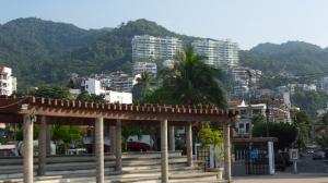 The new and improved Lazaro Cardenas park near Olas Altas, Puerto Vallarta, Mexico.